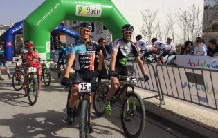 Me and my best bud Thomas at Andalucia Bike Race