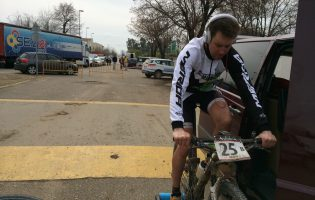 Warmup for Andalucia Bike Race