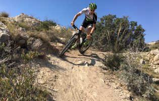Trail riding in Benidorm