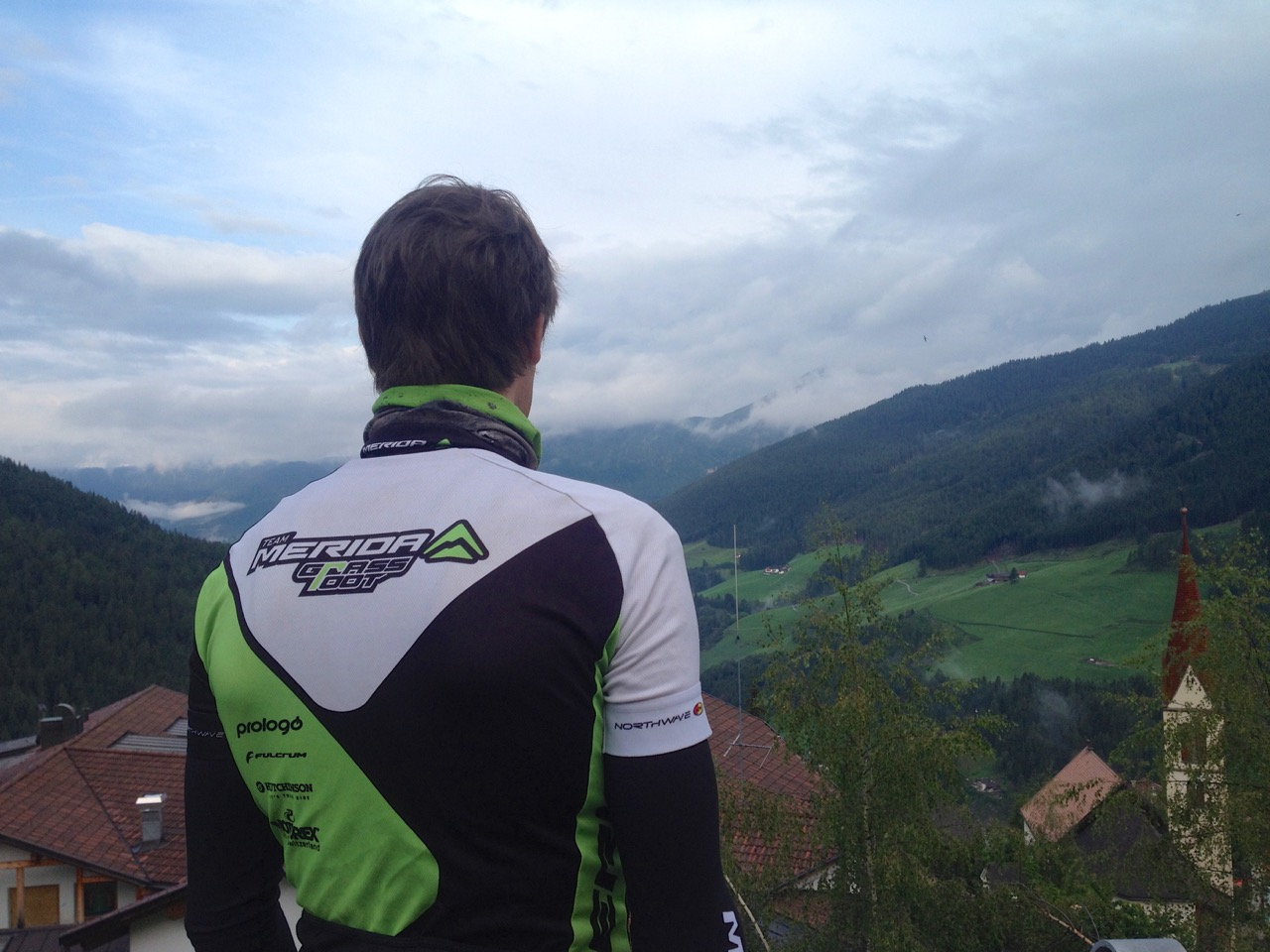 Before another Transalp stage in Sarental