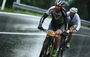 Wet stage in Transalp