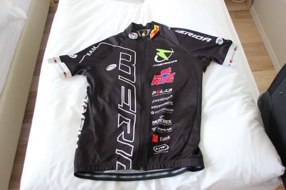 Clean jersey - thanks, Andri :)
